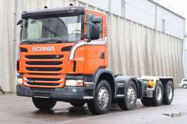chassis cabine vrachtwagen Scania G420 8x4 Euro5 AHK PTO RETARDER Leasing 2012