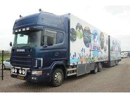 bakwagen vrachtwagen Scania R124.420  6X2/4  HOLLAND TRUCK 2002