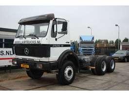 chassis cabine vrachtwagen Mercedes Benz 2626    6 x 4 1979