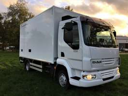 bakwagen vrachtwagen DAF LF 45.160 Daf euro5  NU €16900 ex btw!! korte koffer 4m30! 2008