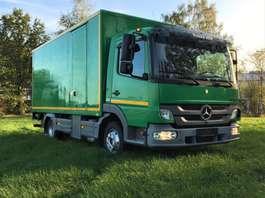 bakwagen vrachtwagen Mercedes Benz Atego €16750 ex btw koffer 5m10!!!! 2011