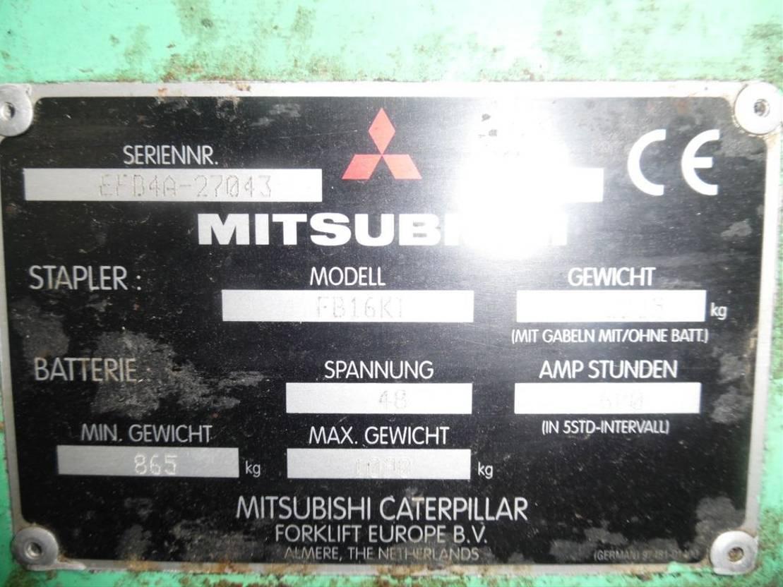vorkheftruck Mitsubishi FB-16 KI 2005