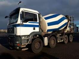 betonmixer vrachtwagen MAN Stetter 10 m3 2004