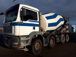 betonmixer vrachtwagen MAN Stetter 10m3 2003