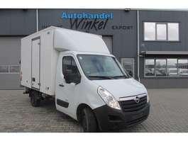 bakwagen bedrijfswagen Opel Movano 2.3 CDTi Koffer met Lift 2013