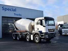 betonmixer vrachtwagen MAN TGS 32.400 8X4 Stetter Mixer (9000L) 2011