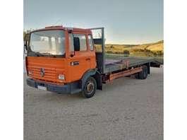 takelwagen-bergingswagen-vrachtwagen Renault Midliner S120 Turbo Perkins engine left hand drive electric winch. 1992