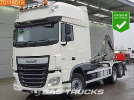 containersysteem vrachtwagen DAF XF 460 6X2 AJK Intarder Belgian-Registration ACC Euro 6 2015