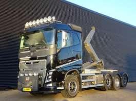 containersysteem vrachtwagen Volvo FH16.750 8X2 / EURO 6 / HAAKARM / ABROLKIPPER 2019