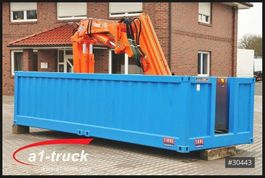 huifzeil wissellaadbak Krone Container Elektro Kran Tirre 331 Funk, stationär, Offshore 2016
