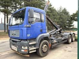 containersysteem vrachtwagen MAN TGA 26.310 - 6x4  - MANUAL - BIG AXLES - *184.000km* - MANUELLE  / GRAND... 2005