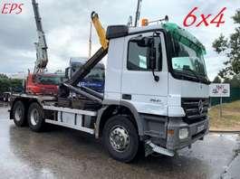 containersysteem vrachtwagen Mercedes Benz ACTROS 2641 - 6X4 -  HAAKSYSTEEM / AMPLIROLL / ABROLLKIPPER --- EPS 3 PE... 2005