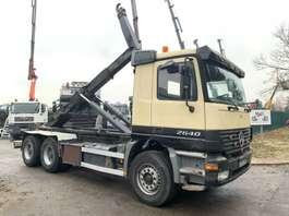 containersysteem vrachtwagen Mercedes Benz ACTROS 2640 - 6x4 - EPS - 3 PEDALES - GRAND PONTS REDUCTEURS - LAMES / B... 2000