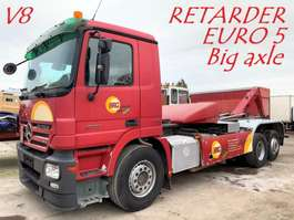 containersysteem vrachtwagen Mercedes Benz ACTROS 2551 V8 - 6x2 - RETARDER - EPS 3 PEDALES -  BIG AXLE - FRONT STEE... 2007