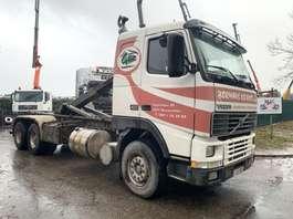 containersysteem vrachtwagen Volvo FH12-420 - 6x4 - HAAKSYSTEEM / ROLL OFF TIPPER / AMPLIROL - STEEL SPRING... 1998