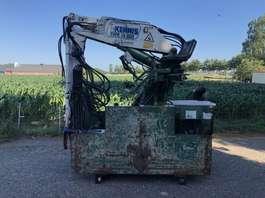 Kraanarm vrachtwagen onderdeel Kennis Kraan Kraan R 14,000 met steunpoten 3x uitschuif 2001