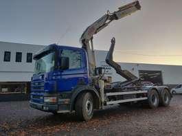 containersysteem vrachtwagen Scania 114C 340 6x4 2000