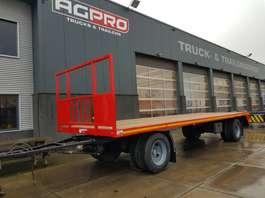 platte aanhanger vrachtwagen agpro 2 as langzaamverkeer