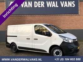 gesloten bestelwagen Opel Vivaro 1.6CDTI L1H1 Airco, inrichting, omvormer, cruisecontrol 2015