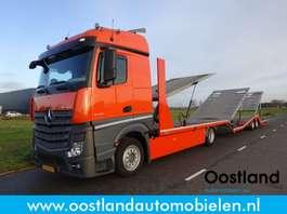 autotransporter vrachtwagen Mercedes Benz Actros 1840 StreamSpace Euro6 Techau Multitransporter / Autotransport 2016