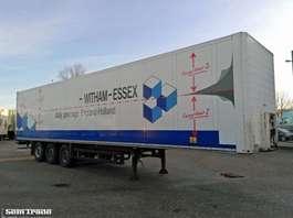 gesloten opbouw oplegger Schmitz Cargobull SKO 24 DOPPELSTOCK SAF AXLES 2009