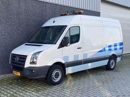gesloten bestelwagen Volkswagen CRAFTER 35 BESTEL L2 H1 2.5 TDI 100 KW AIRCO  INCL. INRICHTING/WORKSHOP 2008