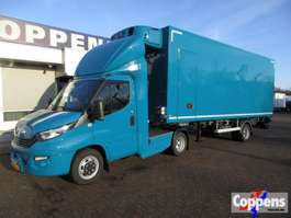koelwagen bestelwagen Iveco Daily 40 C 18 T BE-trekker 3.0L +koel/vries BUNK trailer automaat 2019