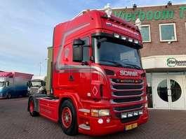 gevaarlijke stoffen trekker Scania R480 4X2 TOPLINE EURO6 RETARDER FULL ADR PTO TOP CONDITION!!!!!!!!!! 2013