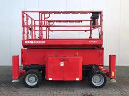 schaarhoogwerker wiel Manitou 140 SC / 14.20 M / 941 HOURS 2013