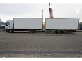 bakwagen vrachtwagen Renault PREMIUM 450 dxi Closed box in combi with SAMRO Trailer 2008