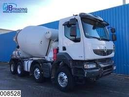betonmixer vrachtwagen Renault Kerax 430 Dxi  8x4, EURO 5 EEV, Baryval,  8 M3, Beton / Concrete mixer ,... 2013