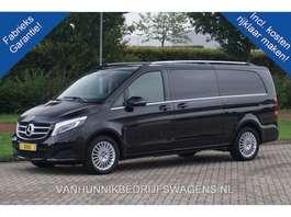 gesloten bestelwagen Mercedes Benz V-klasse V250d XL AUT Avantgarde Enkel Cabine Climate, Navi, Leder, Led,... 2018