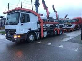 autotransporter vrachtwagen Mercedes Benz 1844 LNR + ROLFO 3AS AANHANGER 2001 2008