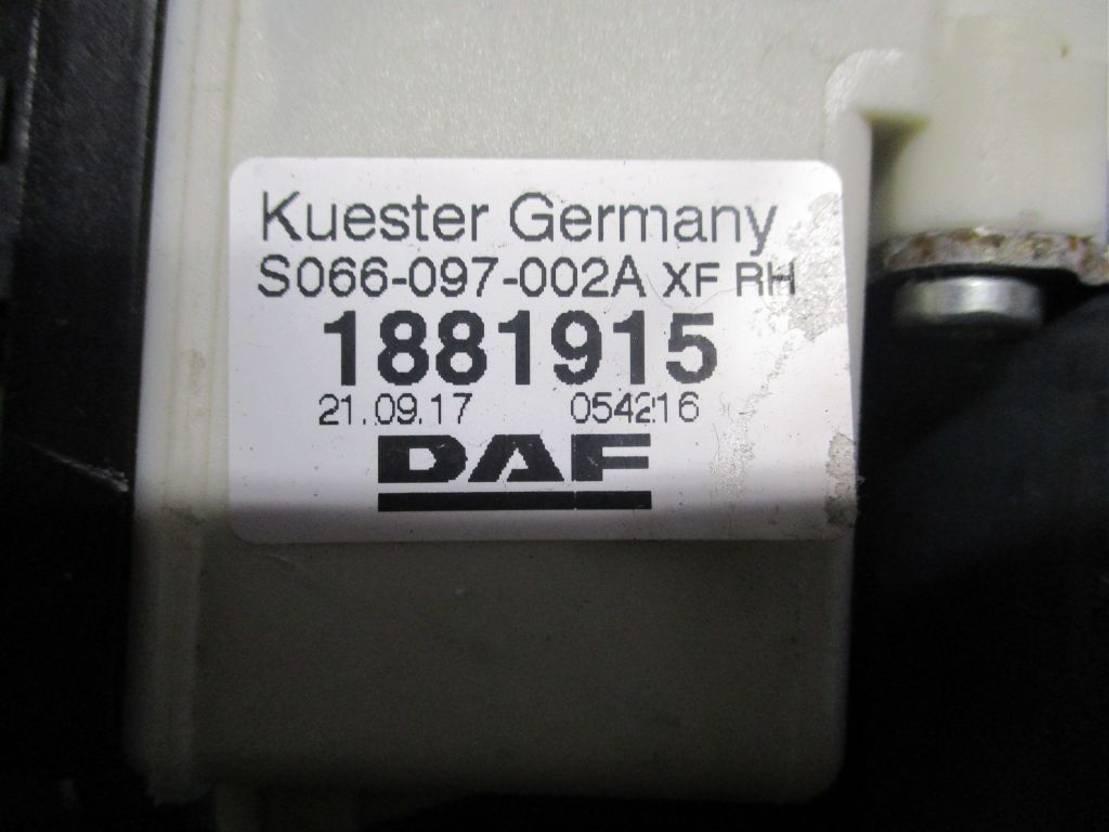 Elektrisch raammechaniek vrachtwagen onderdeel DAF 1881915 Raammechanisme Rechts