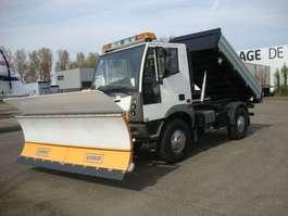 kipper bedrijfswagen Schmidt AEBI MT 750 4X4 KIPPER 6cil winterdienst MT750 3 ZIJDIGE KIPPER euro6 163PK 2014