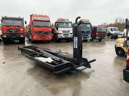 Containersysteem vrachtwagen onderdeel Mercedes Benz alumac haaksysteem (AFZETSYSTEEM) 2004