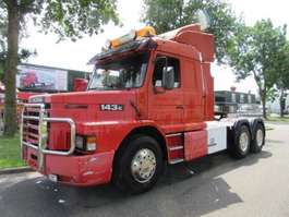 zware last trekker Scania TE 143 6X4 1995