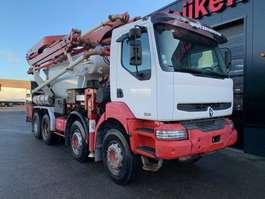 betonpomp vrachtwagen Renault KERAX 420 8X4 - PUMI PUTZMEISTER TMM 21.67 Q - 21 METER 2004
