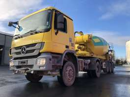 betonmixer vrachtwagen Mercedes Benz ACTROS 2041 AS MP3 + SEMI LIEBHERR 12M3 2008