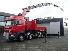 zware last trekker Scania R500 V8  8x4 Tractor PK 85002F Jib PJ 170  Retarder 2010
