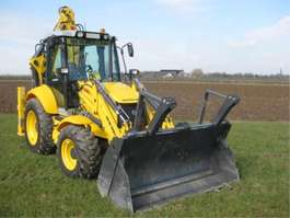 graaflaadmachine New Holland B 110 C , TC/LR B 100 C, TC/LR, 90 uur, backhoe 2016