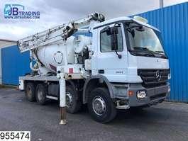 betonmixer vrachtwagen Mercedes Benz Actros 3241  8x4, Schwing 24 MTR Pumi, EPS 16 3 Pedals, Steel suspension... 2005