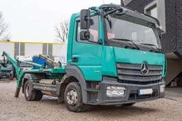 kipper bedrijfswagen Mercedes Benz Atego 818 Meiller AK4 Teleskobabsetzer 2014