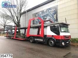 autotransporter vrachtwagen Iveco Stralis 420 Lohr, Eurolohr Car transporter, Manual, Retarder, Airco, eur... 2008