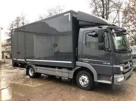 bakwagen vrachtwagen Mercedes Benz ATEGO 1018  euro 5 Koffer+Laadklep 2011