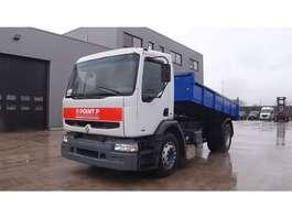 kipper vrachtwagen Renault Premium 260 (GRAND PONT / SUSPENSION LAMES / POMPE MANUELLE) 2001