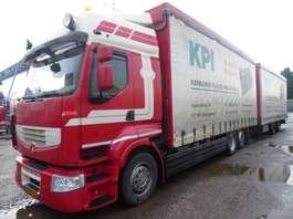 schuifzeil vrachtwagen Renault komplettzug,Premium, EEV,440 PS,120m3 ,schiebeplane 2013