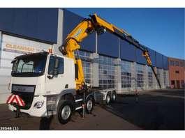 kraanwagen DAF FAD CF 440 8x4 Effer 92 ton/meter laadkraan + Jib 2015
