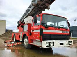 brandweerwagen vrachtwagen Renault Unieke ladderwagen!!! ** €9500 excl BTW** 1985