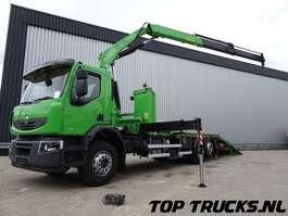 takelwagen-bergingswagen-vrachtwagen Renault Lander 380.26 6x2 Oprijwagen, Fassi 23 tm kraan, Kran, Crane, Lier, Winc... 2010